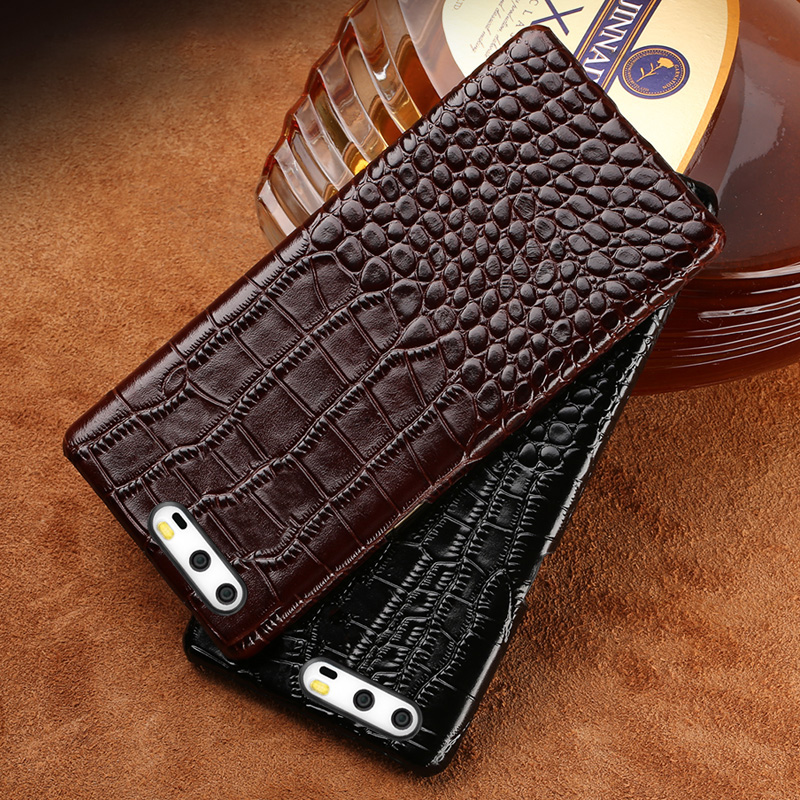 Echtes leder telefon fall Für Huawei Nova 2 s Krokodil textur Weiche shell all-inclusive Für Honor V9 V10 mate10 P10 Plus fällen