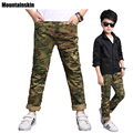 New Fashion Boys Camouflage Pants 2017 Spring 4-13Y Children's Sports Trousers Casual Kids School Pants Army Style Outdoor SC782