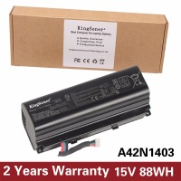 15V 88WH KingSener Genuine New A42N1403 Laptop Battery For ASUS ROG GFX71JY Notebook A42LM93 4ICR19 66