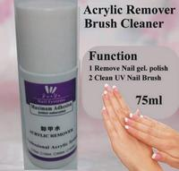 1 Pcs Junyu 75ml UV Gel Polish Acrylic Remover And Brush Cleaner Liquid For Nail Art