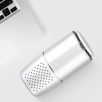 ABS Mini Office Negative Ion Multifunctional Low Noise Portable Air Cleaner Fresh Car Smart Interior Rechargeable Air Purifier