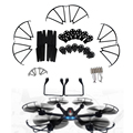 7PCs Motor Base Gear Spare Parts for MJX X600 RC Quadcopter Accessories Kit