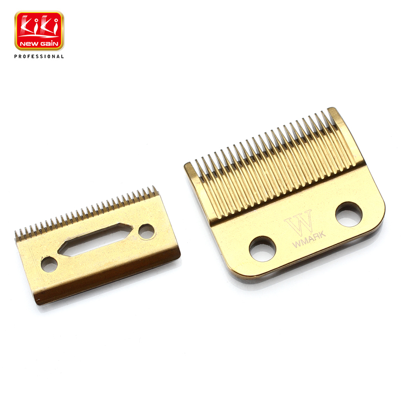 New Golden Hair Clipper blade.High carton steel.clipper accessories.suitable for most types of  hair clipper