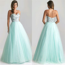 Elegant Lady Strapless Dress Sexy Women Sleeveless Prom Gown Sequins Bridesmaids Long Floor Length Dress Vestidos(China)