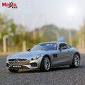 Maisto Mercedes-Benz AMG GT 1:18 Шкала Модель Автомобиля Сплава Игрушки Diecasts и Toy Транспорт Коллекция Подарок