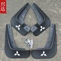 Carro styling de alta qualidade Mud plástico macio Flaps Respingo Guarda Fender para 2010-15 Mitsubishi Lancer EX