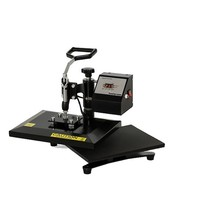 23*30cm Mini Swing Away Heat Transfer Press Machine For Sublimation T-shirt