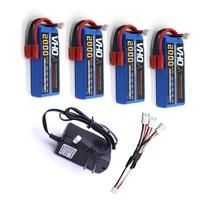 VHO 4pcs SYMA X8 X8C X8C 1 X8W Battery 7 4 V 2000mah 2S Li Po
