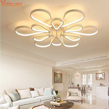 VITRUST Modern LED Ceiling Lights Lamps Home Lighting Surface Mount Fixtures Indoor Foyer Living Dining Room Bedroom Acrylic