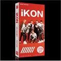 Kpop estrela popular IKON álbum coletivo subseção 120 + 1 pcs Letras K-pop Foto LOMO Presente lembrança Adesivo