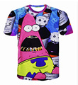 Confound Patrick Star Actavis codeine syrup 3d t shirt Casual t-shirt Clothing Summer Style tops tees plus size M-XXL