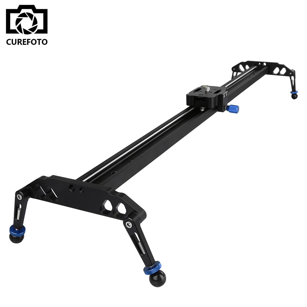 New Professional 100cm/40 Bearing Video Camera Track Slider Dolly Stabilizer System for DSLR Camcorder Better Than Sliding-pad new 4 wheels mobile rolling sliding dolly stabilizer skater slider motorized push cart tractor for gopro 5 4 3 3 2 1 camera
