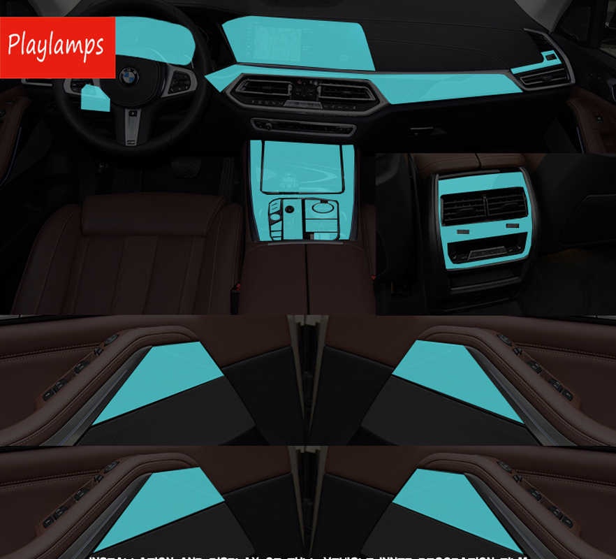 Sticker For BMW transparent Promotion TPU Film stickers For bmw x5 x7 2019 Car accessories in Car Stickers from Automobiles Motorcycles