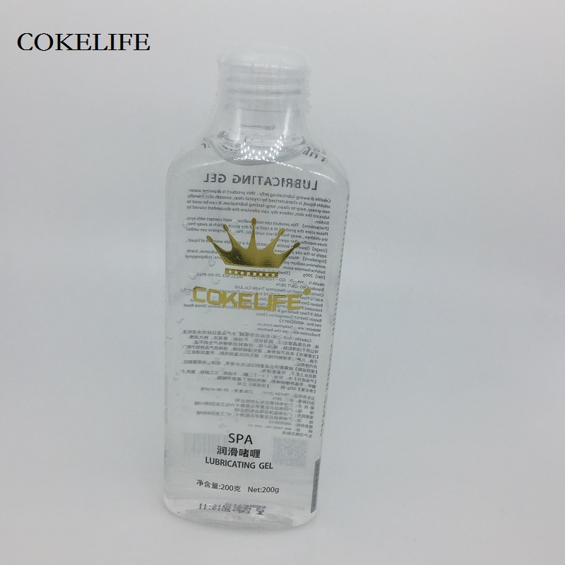 COKELIFE 200g Water Base Grease SPA Massage Sex Oil Transparent Lubricant For Sex Anal and Vagina Adult Sex Products