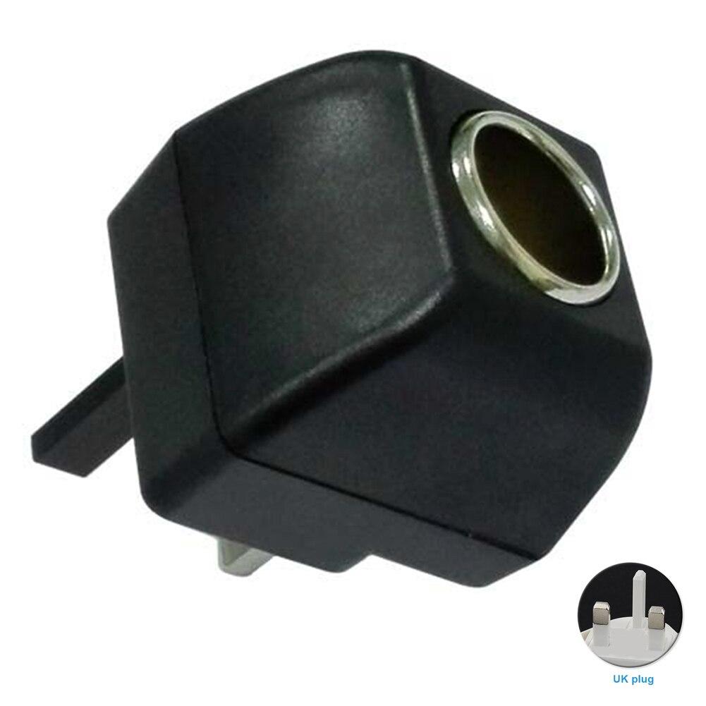К DC конвертер 500mA 220 В до 12 сигареты бытовой/автомобиль Великобритании/США Plug Питание адаптер с предохранитель трубки