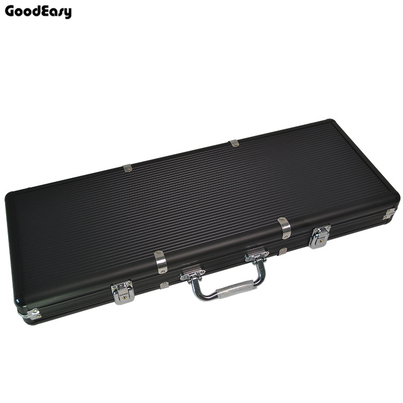 High Quality 500pcs Capacity Chips Suitcase Chip Container Chip Case Box poker chips Aluminum suitcase