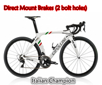 2018 MCipollini RB1K THE ONE Italian Champion Direct Mount Brakes Complete Bicycle with R8010 groupset XXS/XS/S/M/L/XL