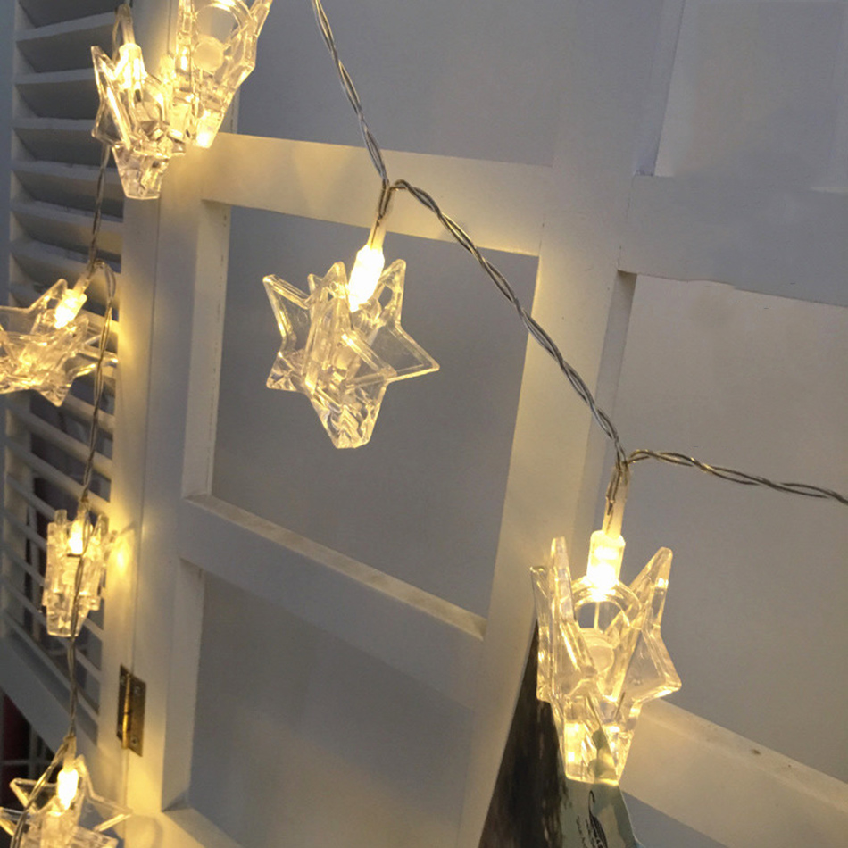 diy party lighting. Star Shape Photo Clip LED String Lights, AA Battery Holiday Party Lighting, DIY Wedding Decoration Or Home Room Decor-in From Lights Diy Lighting A