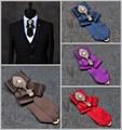 Nuevo Envío Libre de la boda de LOS HOMBRES de moda masculina Estrella anfitrión hombres Coreanos las mujeres de cuello camisa de vestir corbata LAZOS del partido etapa de fotos en venta