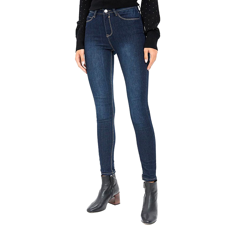 Jeans MODIS M182D00015 pants clothes apparel for female for woman TmallFS dresses befree 1731075511 woman dress cotton long sleeve women clothes apparel casual spring for female tmallfs