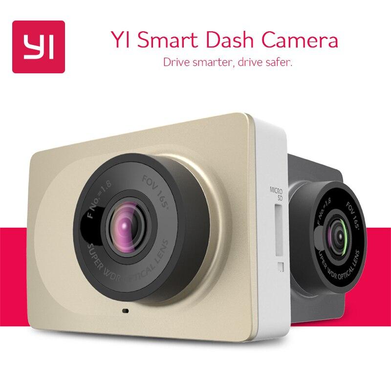 [Международный версия] Yi смарт-dash Камера xiaoyi Wi-Fi Видеорегистраторы для автомобилей регистратор Ночное видение 1080 P HD 60fps ADAS безопасный напоминание