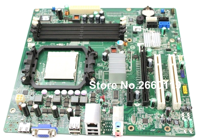 ФОТО 100% Working For Dell 546 546S DRS780M02 Desktop Motherboard F896N System Board Fully Tested