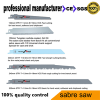 Sabre Saw Blade For Reciprocating Tools For Wood Chipboard Metal And Pvc Pipes Tree Branch Cutting