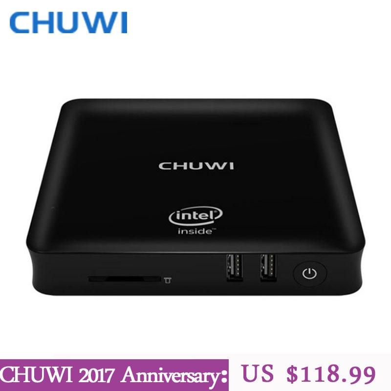 Oficial CHUWI! HiBox Héroe CHUWI Mini TV Box PC Intel X5 Z8350 4 GB RAM 64 GB RO