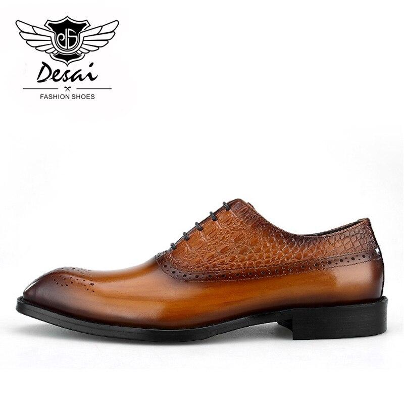 Zapatos nuevos para hombre, zapatos de vestir tallados, zapatos de cuero de vaca, zapatos formales para hombre-in Zapatos formales from zapatos    2