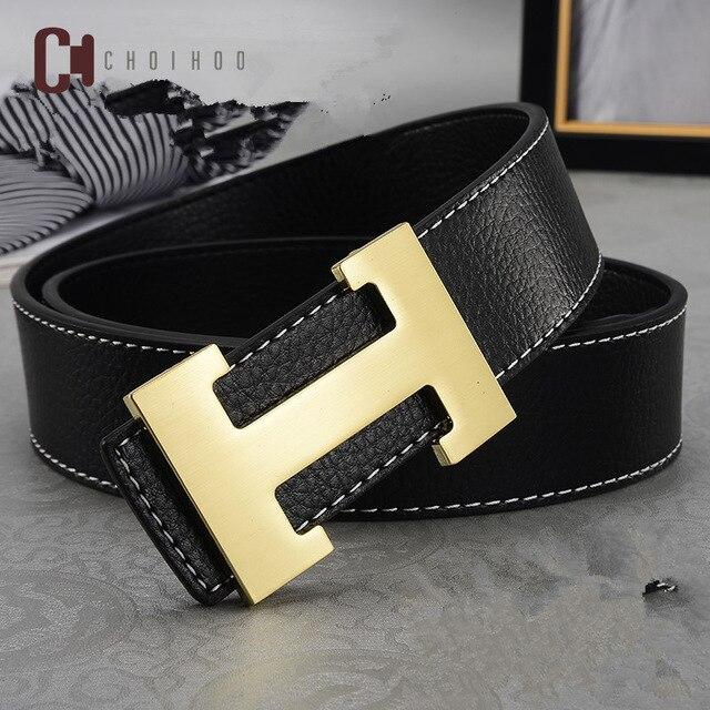 5f6f91c262 2019 luxe Designer H marque Designer ceintures hommes de haute qualité mâle  véritable en cuir véritable