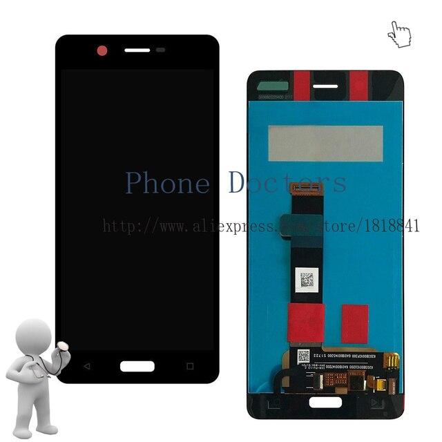 """5.2 """"צג lcd מלא + מסך מגע Digitizer עצרת עבור Nokia 5 N5 TA-1024 TA-1027 TA-1044 TA-1053; 100% נבדק"""