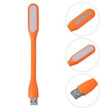 2016 Hot Xiaomi Portable USB LED Light Flexible Silicone mini USB Lamp For font b Power