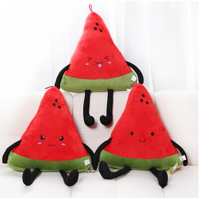 Large watermelon style plush toy pillow doll home cushion birthday day gift super cute plush toy dog doll as a christmas gift for children s home decoration 20
