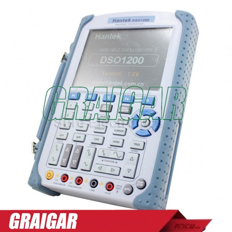 ᗗHantek ручной 2 канала 200 мГц цифровой осциллограф ...