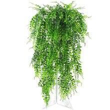Зеленое подвесное растение искусственное растение хлорофитум настенное украшение для домашнего балкона