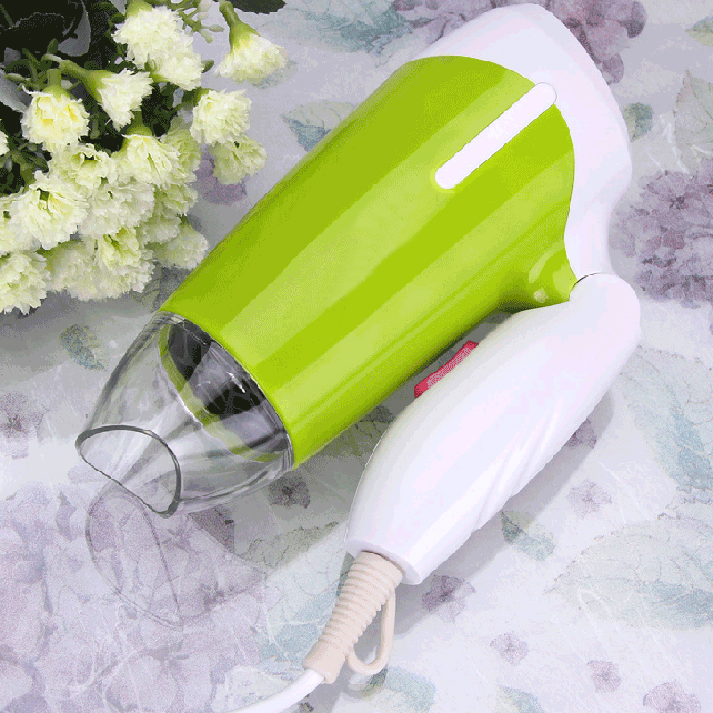 600W Foldable Electric Hair Dryer Household Salon Hot/Cold Wind Travel Styling Tools Portable Blow Dryer Low Noise dmwd mini hair dryer foldable electric travel hairdryer household portable styling tool hot warm cold wind air blower 110v 220v