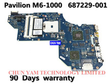 original 687229-001 Fit for HP Pavilion m6 motherboard LA-8712P REV:1.0 A70M HD7670M/2G mainboard 100%Tested 90DaysWarranty