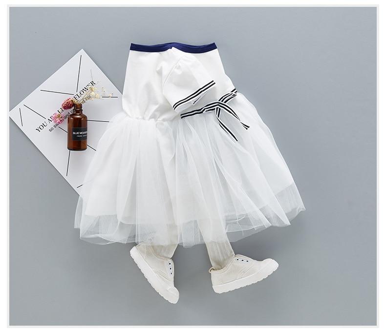 QAZIQILAND Letnia dziewczynka sukienka 1 rok Birthday Party sukienka - Odzież dla niemowląt - Zdjęcie 5