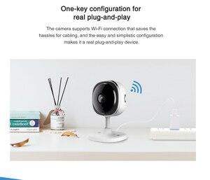 Image 4 - SANNCE cámara IP de ojo de pez 1080P, 3 piezas, inalámbrica, Wifi, minicámara de seguridad para el hogar, 2MP HD de visión nocturna, IR, corte, Wi Fi, Monitor para bebés