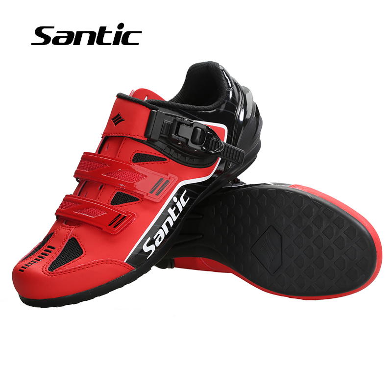 Santic Men Unlocked Cycling Shoes Rubber Anti-slip Shoes For Mountain Road Bike NEW Breathable Pro Bicycle Shoes Riding Sneakers santic men pro cycling shoes road bicycle shoes breathable