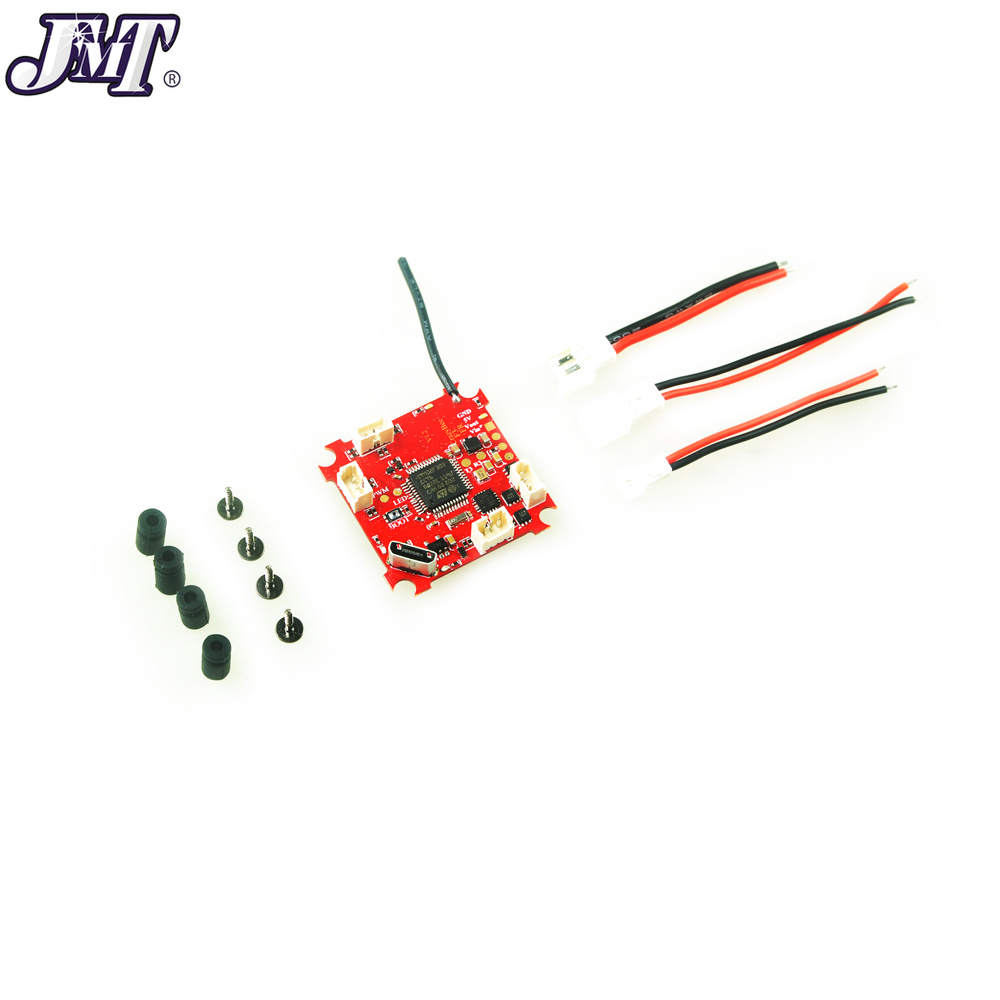 JMT 4 IN 1 Crazybee F3 Flight Controller OSD Current Meter 5A 1S Blheli_S ESC Compatible DSM/2 DSM/X Receiver for RC Whoop Drone dsm 14s