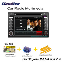 Liandlee For Toyota RAV4 RAV 4 2000~2005 2 din Car Android GPS Navi Navigation Maps Radio CD DVD Player Audio Video Stereo