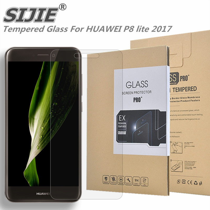Tempered Glass For HUAWEI P8 lite 2017 honor 8 8Lite PRA AL00X Screen cover protective smartphone toughened 9H on case 5 2 inch in Phone Screen Protectors from Cellphones Telecommunications