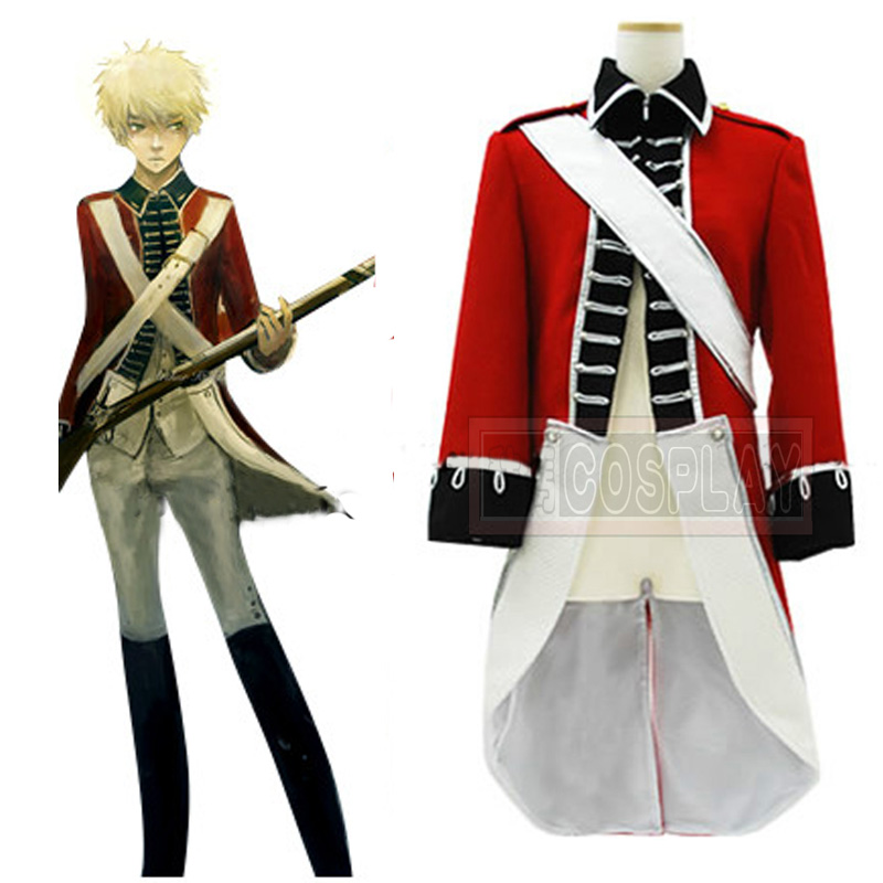 Popular British Red Coat Costume-Buy Cheap British Red Coat ...