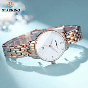 Image 5 - STARKING Luxury Fashion Women Watches Stainless Steel Relojes Mujer Dress Lady Watch Quarts Wrist Watches 2019 NEW