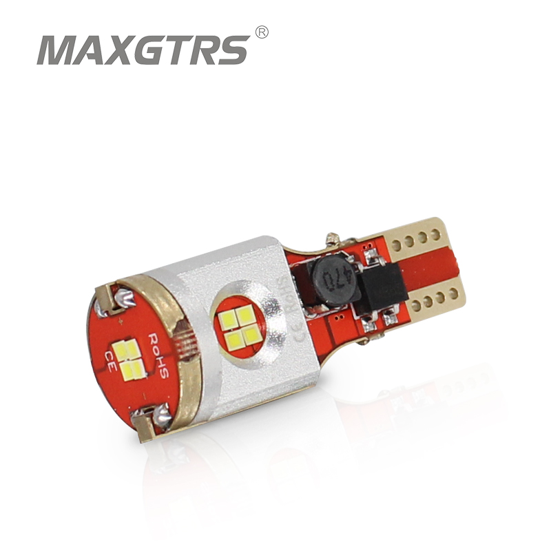 2x W16w T15 Csp Led Car Reverse <font><b>Bulb</b></font> Canbus Obc Error Free <font><b>Auto</b></font> Backup Light Turn Signal Brake Lamp Red Amber White 12v image