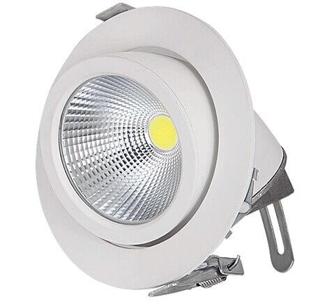 Регулируемый 40 Вт удара багажник лампы светодиодные светильники вниз свет лампы встраиваемые супер яркий крытый свет 85 ~ 265 В CE RoHS Гарантия 3 ...