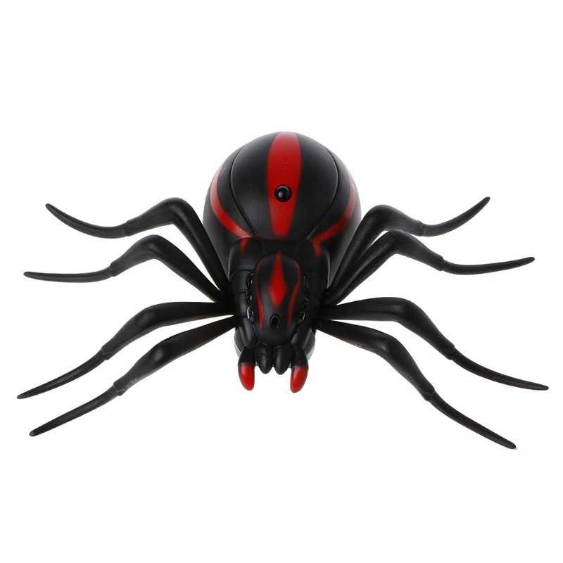 שלט רחוק מציאותי מזויף עכביש RC חיות RC Prank חרקים מפחיד טריק צעצוע