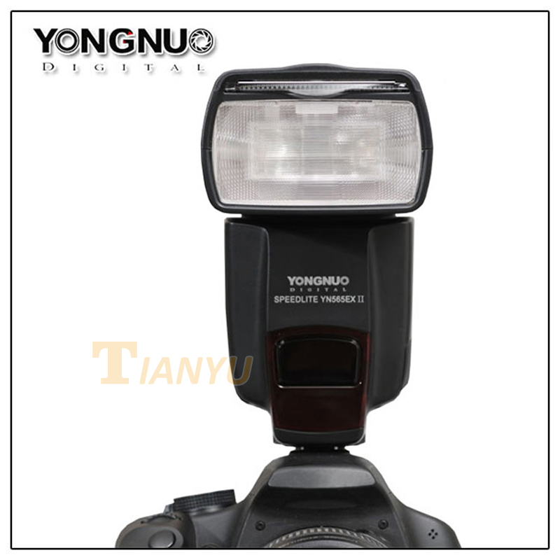 Newest YONGNUO YN-565 EXII YN565EXII E-TTL Wireless Slave Flash Speedlite for Canon 650D 600D 550D 500D 1000D 1100D
