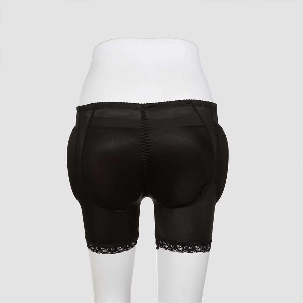 48e33692f ... Silicone Butt Pads 4PCS Enhancer Fake Buttocks Padded Panties Hip Push  Up False Female Hip Butt